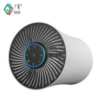 2019 New design ionizer true HEPA filter home air purifier with air quality quality sensor