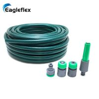 1inch pvc reinforced hose , transparent water garden hose