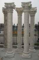 Stone columns or pillars for building materials