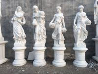 Nice hand carved marble four season statues