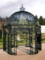 Good quality garden iron pavilion