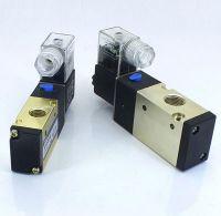 3/2-Way Pneumatic Solenoid Valve, Normally Open/Normally Closed, 12V/24V/110V/220V