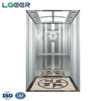 Price for passenger elevator residential lift with stainless steel cab