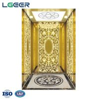 VVVF Gearless Traction passenger Elevator Lift With German Technology