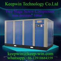 Energy Saving Two Stage Screw Air Compressor remote monitor data Inverter control system save power energy