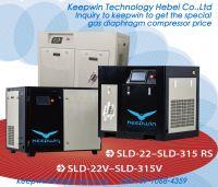 VSD Screw Air Compressor remote monitor data Inverter control system save power energy