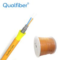 Spiral armor indoor cable with Braiding