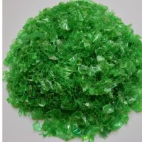 GREEN COLD WASH PET FLAKES