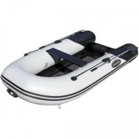 "RIB-275 Aluminum Hull Inflatable Boat, Black, Length: 8'6"""