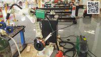 MIG Welding Robot -Kawasaki BA006N welding robot cell -Suzhou GENE Automation