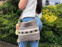 Handmade cotton shoulder bags