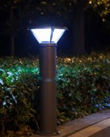 4W Intelligent LED Solar Lawn Lamp with Lithium Battery