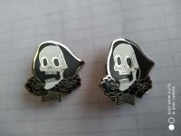 Customizable Hard enamel skull pin
