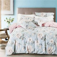 2018 special design smooth textile printed bedsheets cotton fabric
