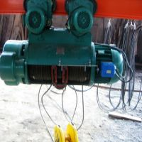 1t electric hoist lifting height 18m power supply 220v single speed steel wire rope electric hoist