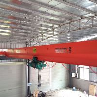 2t electric hoist single girder overhead crane