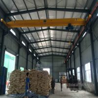 3t electric hoist double lifting speed single girder bridge crane