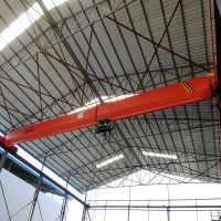2t electric hoist single lifting speed single girder overhead crane