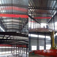 5t electric hoist single lifting speed single girder bridge crane