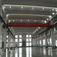 1t electric hoist single girder overhead crane