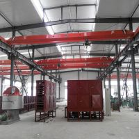 1t electric hoist single lifting speed single girder bridge crane