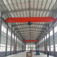 20t electric hoist double lifting speed single girder bridge crane