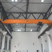 5t electric hoist double lifting speed single girder bridge crane