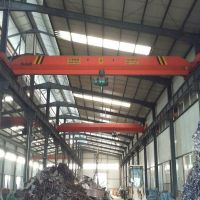 1t electric hoist single girder bridge crane