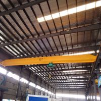 10t electric hoist single lifting speed single girder bridge crane