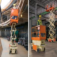 300kg 6M Mobile Hydraulic Small ScissorLift/ 300KG3m Electric Lift Platform Scissor