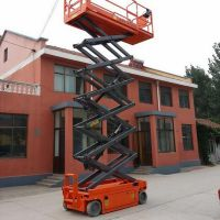 500kg 3M Mobile Hydraulic Small   ScissorLift/ 500KG 3m Electric   Lift   Platform   Scissor
