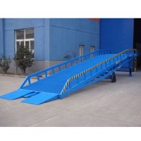 Stationary loading ramp