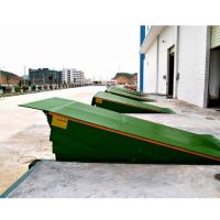 Stationary loading ramp/stationary dock ramp