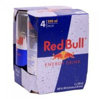 Red Bull Energy Drink - Pack of 24 Cans (24 x 250ml)