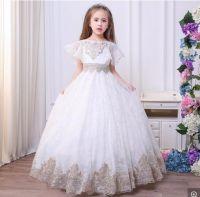 Children Wedding Gown Princess Flower Girl Dress