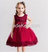 Children Wedding Party Dresses Kids Evening Ball Gowns