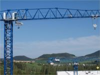 Flat top tower crane 21CM550-25t