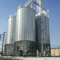 50-20000 tons grain galvanized steel silo