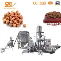 Hot Selling Factory Price Automatic Twin screw Poulty animal food prod