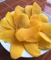 Dried organic mango