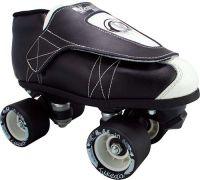 Black And White Vanilla Junior Jam Tuxedo Roller Skates
