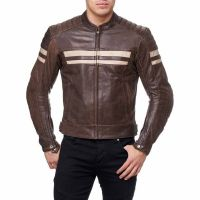 Custom Hot Selling Leather Fashion Men Motorbike Jackets Made of Milld Leather/Mens Black Real 100% Genuine Leather
