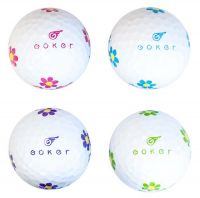 New Goker by Fantom Ladies Golf Balls - 1 Dozen (12 Balls) - Choose a model!