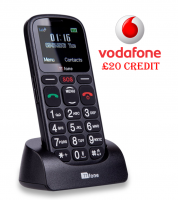 TTfone Comet TT100 Vodafone Pay As You Go with £20 Credit