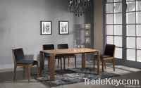 Wood Dining Table, Modern Dining Room Furniture, Dining Chair, Buffet
