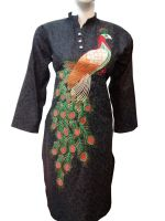 Embroidered Cotton Kurti / Shirts / Top For Women/Ladies