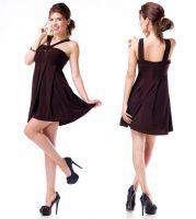 Brown tunic dress