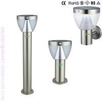 SAFE SOLAR LED GARDEN LAMP