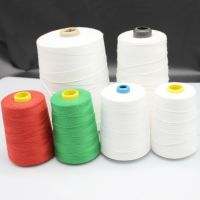 20S/6 100 polyester bag sewing thread factory