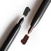 MENOW small smoky eye makeup, eyeliner pencil, eye pencil, black brown